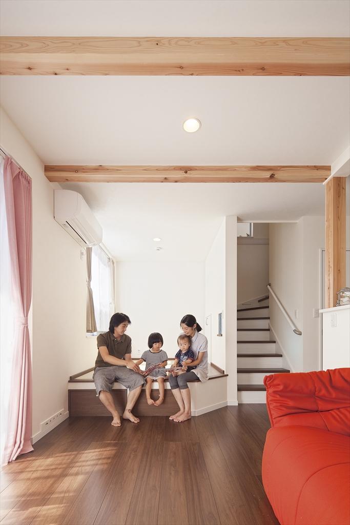 きれいな空気と家族の居場所。背伸びせずに叶えた20代の家